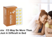 Vidalista - ED may be more than just a difficult in bed
