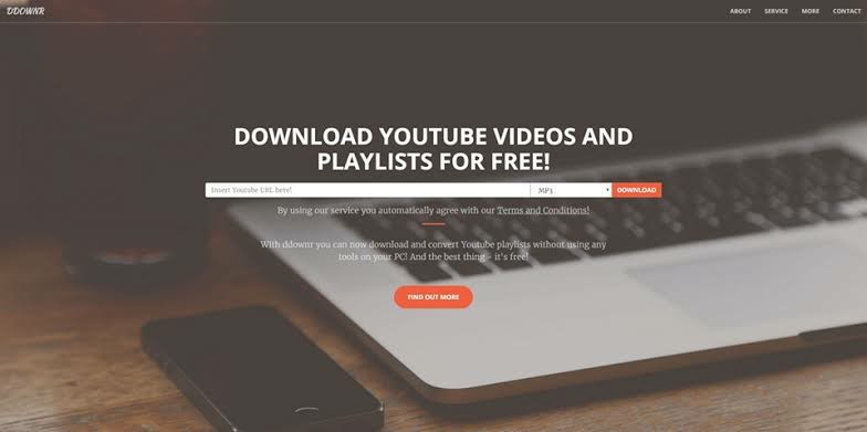 ddownr URL Video Downloader