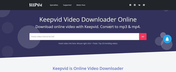 keepvid downloader