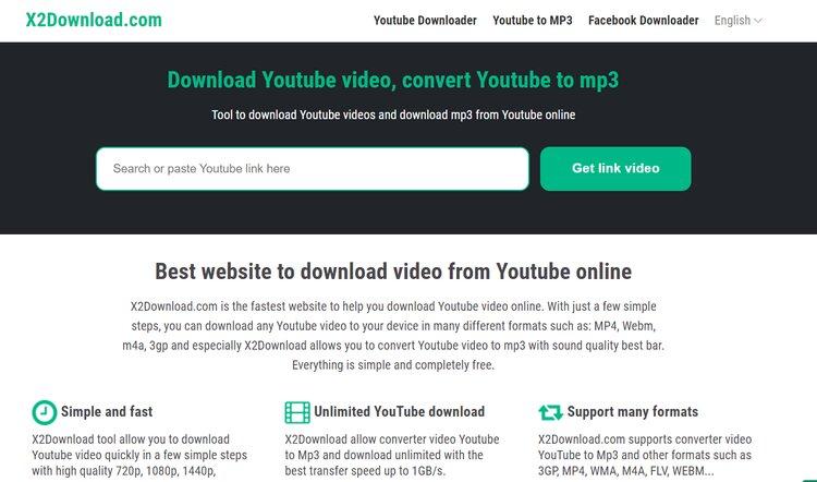 x2download video downloader