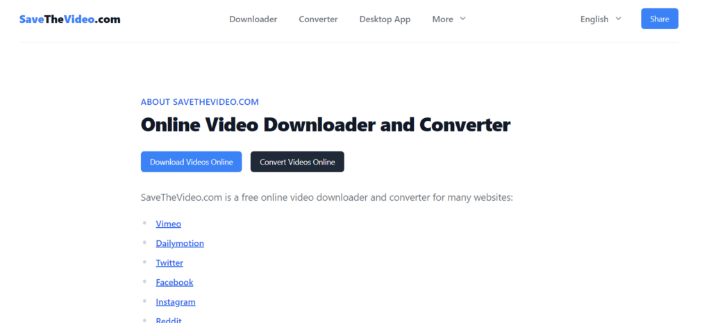 save the video downloader