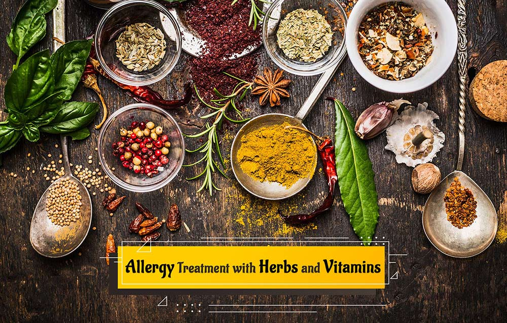 Allergy Treatment with Herbs and Vitamins