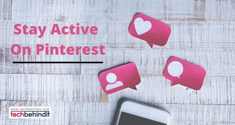 Stay Active On Pinterest