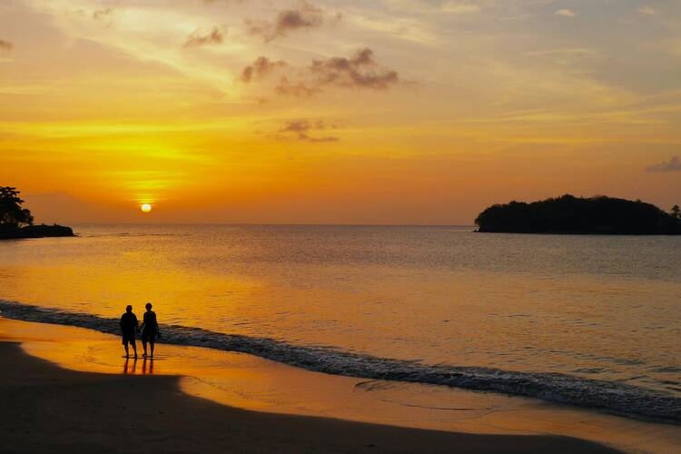 Saint Lucia islands