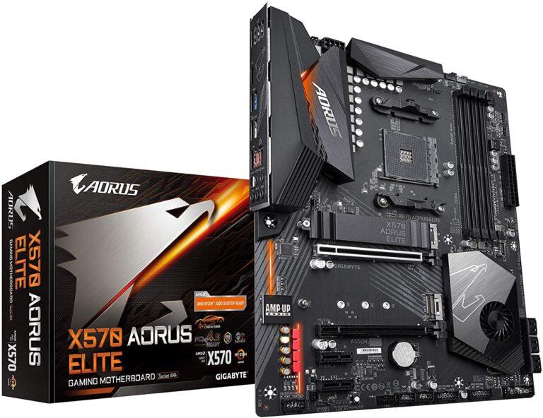 Gigabyte X570 Aorus Elite Gaming Motherboard
