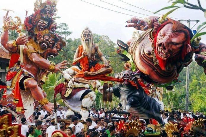 festivals of bali