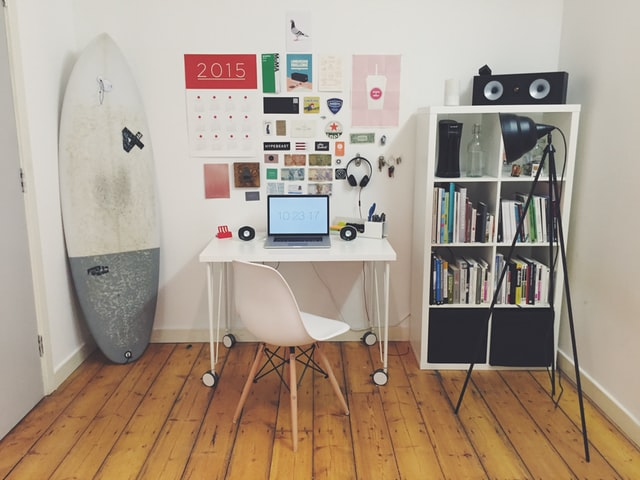 A Corner Office in Your House