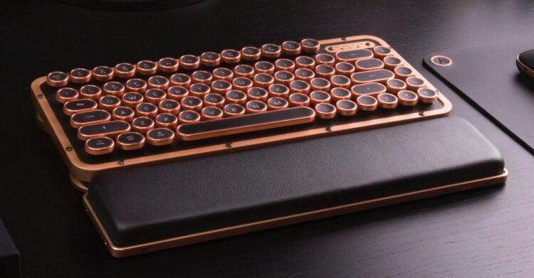 Retro Compact Keyboard-2