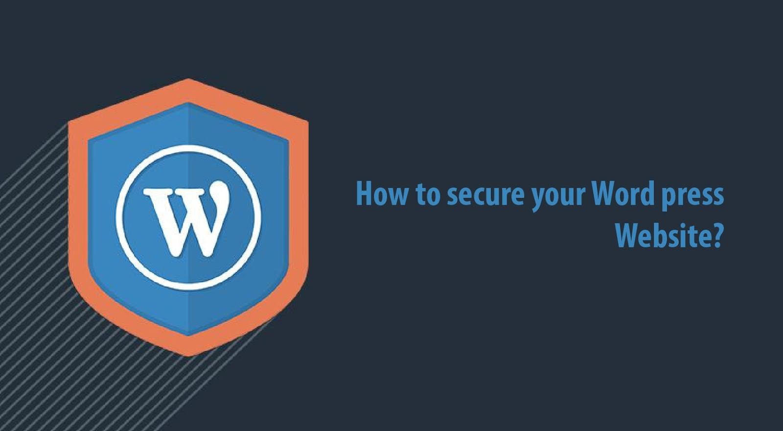 how to secure wordpress sites