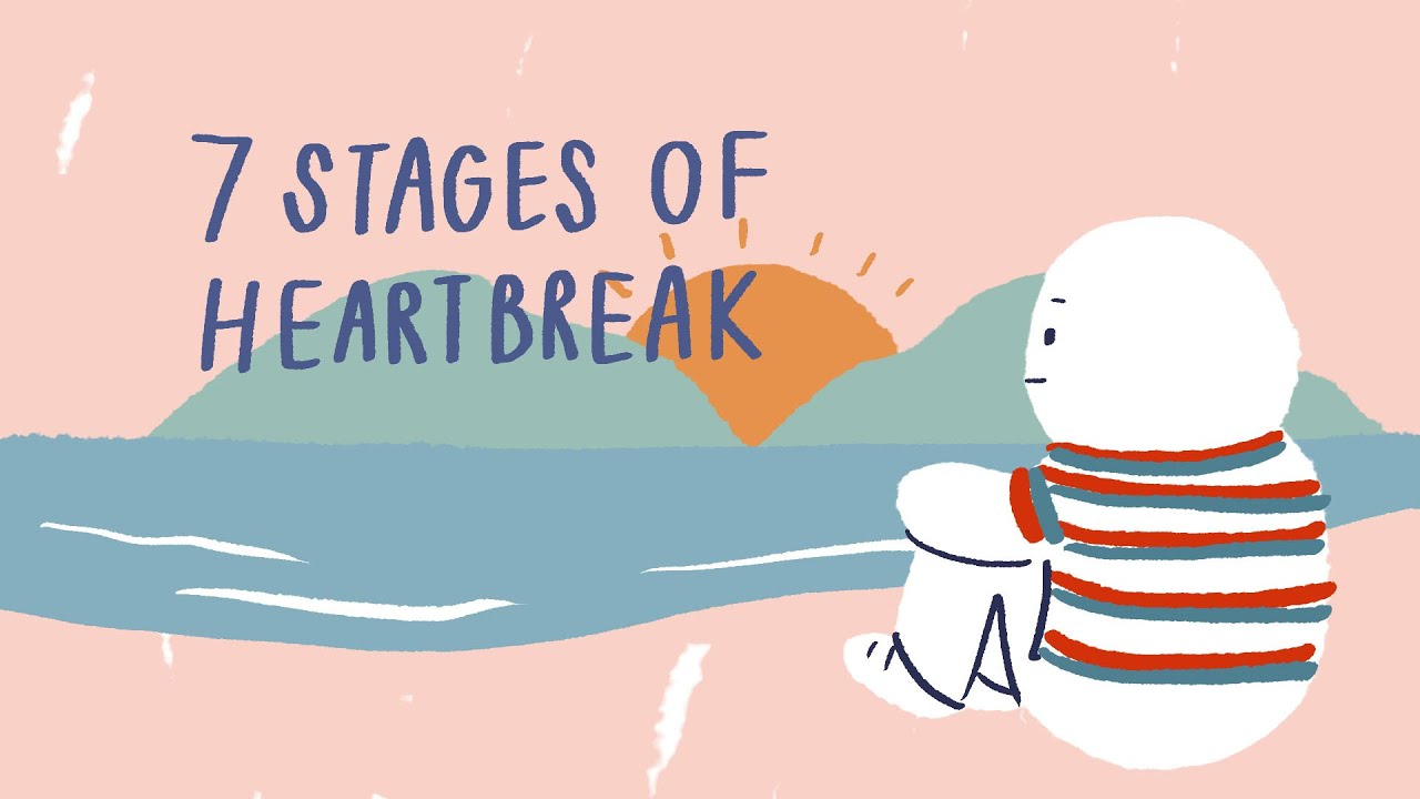 7 Stages of Healing a Broken Heart and Overcoming Communication Gap