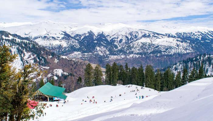 Weather in Shimla and Manali-