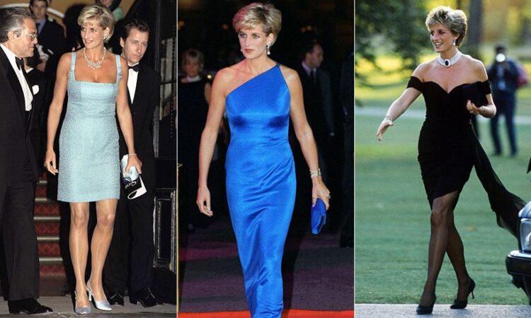 Princess Diana's look