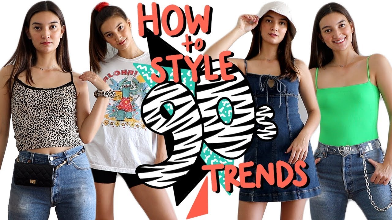 Top 5 90's Fashion Trends That Everyone Wants To Know