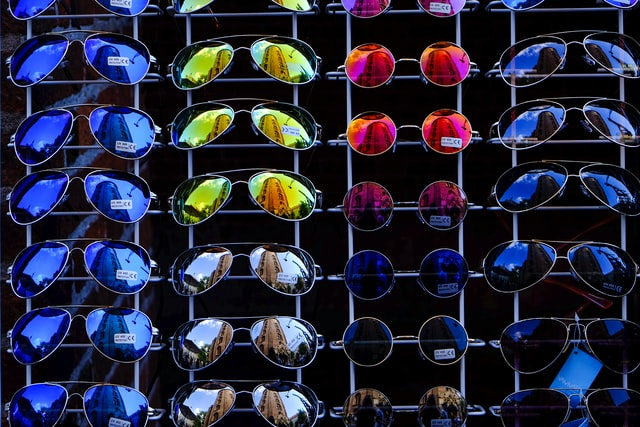 Freedom To Choose Different Lenses - sunglasses