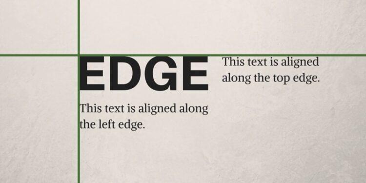 4th Tip To Improve Graphic Designing Skills - Alignment