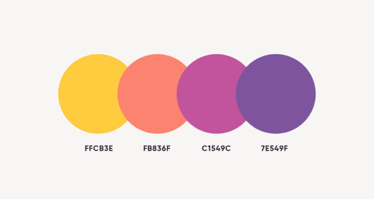 3rd Tip To Boost Your Graphic Designing - Color palette:
