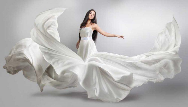 Crepe Wedding Dress Fabric