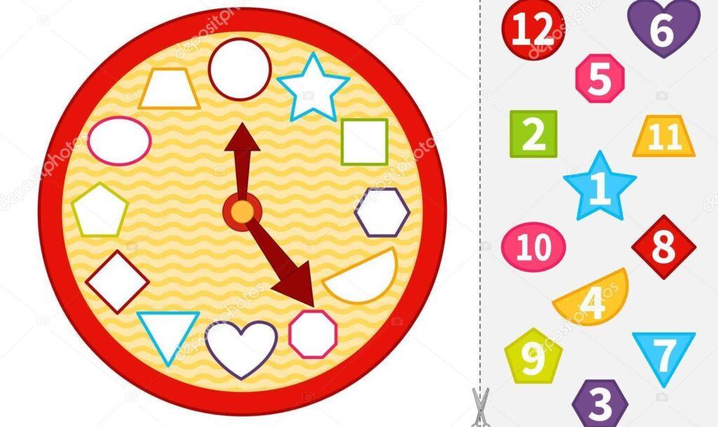 Paper Clock game