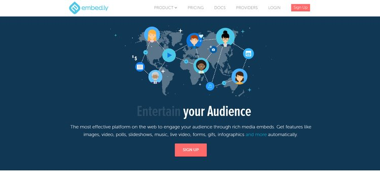 Embed.Ly(Best One To Add Facebook Reviews To Website)