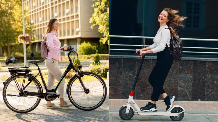 Electric scooters or electric bikes: which is better for you?
