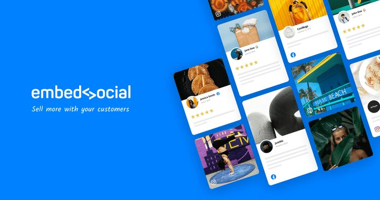 EmbedSocial(Top Tool For Adding Facebook Reviews)