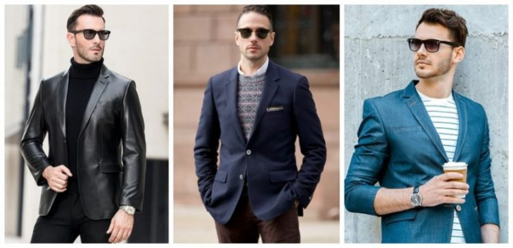 Enhance Your Style With Men's Blazers1